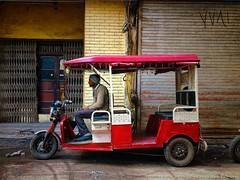 #Travel #India #NewDelhi #Tuktuk (watsonchain2194) Tags:
