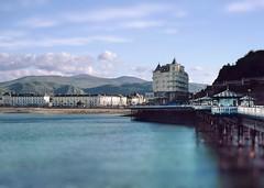 Grand Hotel (Bill Eiffert) Tags: hotel grand llandudno wales sea pier view sky blue