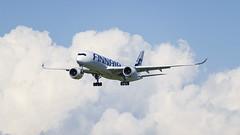 Airbus A350 (tkaiponen) Tags: airshow finland turku airbus a350 finnair demonstration skills landing gear
