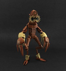 Tunnel Stalker (A Plastic Infinity) Tags: biocup2019 lego mole moleman scary monster monsters bionicle star nose freaky uncanny