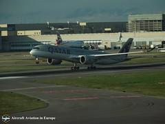 Qatar Airways A7-AME London Heathrow, UK (Aircraft Aviation in Europe) Tags: qatar airways airbus a350 london heathrow airport uk