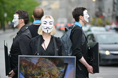 193752-0019 (felixfortheanimals) Tags: anonymous voiceless vegan activism cube truth montreal animal