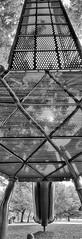 My foot's point of view (Pejasar) Tags: panorama playground tulsa oklahoma shoe slide blackandwhite