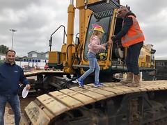 Bouwbraderie met grote machines (Rotterdamsebaan) Tags: vlietzoom denhaag infra infrastructuur bouwen techniek rotterdamsebaan dagvandebouw tunnel