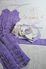 dress BL (Zhanna Zolotina) Tags: handmade miniature doll clothes kleidung clothing blythe tinydolhousetoyzz toyzz
