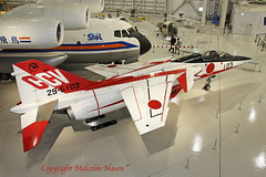 MITSUBISHI T2-CCV 29-5103 JASDF 1 (shanairpic) Tags: military museum preserved mitsubishit2 gifu jasdf