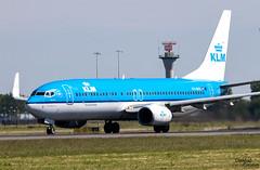 737 PH-BXK despegando de Schiphol (Dawlad Ast) Tags: aeropuerto internacional amsterdam ams schiphol holanda international airport mayo may 2019 avion plane airplane aircraft spotting aviation aviacion holland boeing 7378k2 phbxk klm sn 29598 swiftgierzaluw b737 b738 737800 737 despegue takeoff take off polderbaan