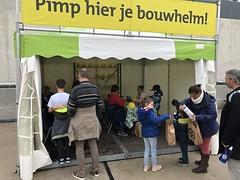 Bouwhelm pimpen (Rotterdamsebaan) Tags: vlietzoom denhaag infra infrastructuur bouwen techniek rotterdamsebaan dagvandebouw tunnel