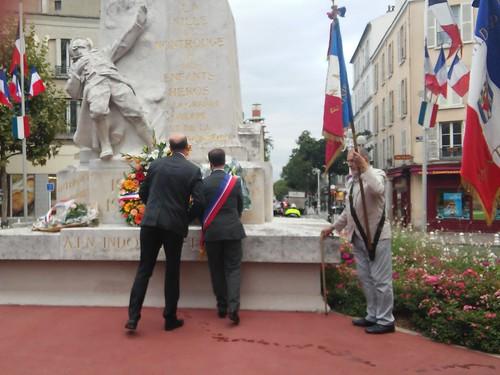 Commémoration de la Libération - 25 août 2015