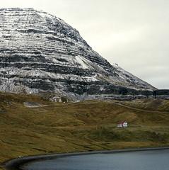 Naustvík, again (lawatt) Tags: naustvík house pasture mountain water fjord reykjarfjörður árneshreppur westfjords iceland film 120 portra 400 hasselblad 120mm