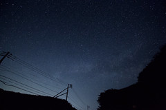 Light line (O. Heda) Tags: milky way starry sky izu 天の川 星空 伊豆 japan 日本