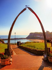 Whalebone Arch, Whitby, North Yorkshire, UK (photphobia) Tags: whitby town coast yorkshire england uk europe oldtown oldwivestale outside outdoor river riveresk street streetphotos