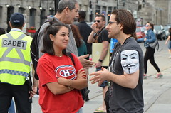 182825-0037 (felixfortheanimals) Tags: anonymous voiceless vegan activism cube truth montreal animal