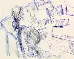 sketcher (kumi matsukawa) Tags: uskjapan usk sketch tsukishima tsukudajima
