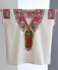 sn pedro zipiajo mich.JPGx (Teyacapan) Tags: michoacan mexico purepecha guadalupe museum textiles clothing huipil huanengo blouse ropa vestimenta