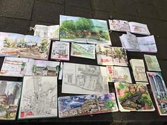 our result (kumi matsukawa) Tags: uskjapan usk sketch tsukishima tsukudajima
