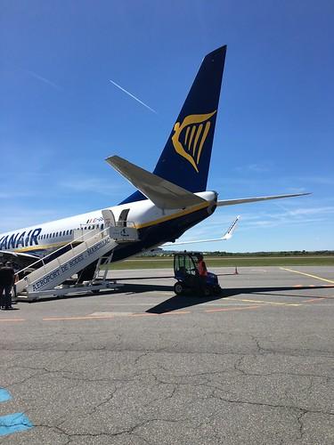Ryanair EI-GSK at Rodez Ayeron
