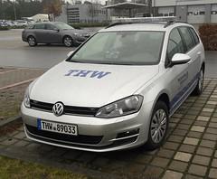 VW Golf Variant - OV Witten (michaelausdetmold) Tags: volkswagen vw einsatz blaulicht fahrzeug katastrophenschutz kats thw golf variant witten nrw