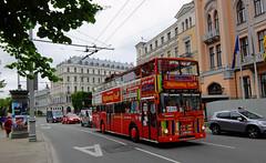 Latvia - Riga bus (onewayticket) Tags: bus transport urban rigabestbus man sd200 mansd200 waggonunion hl5210 riga latvia