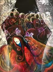 Il sogno della Farfalla (Maddalena Franguelli) Tags: operagrafica decorazione farfalla sioariografico