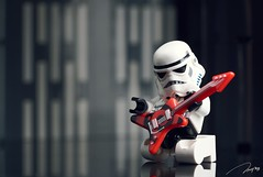 Wanna be a rockstar (storm TK431) Tags: stormtrooper lego legostarwars starwars deathstar