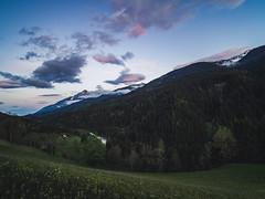Serenity. (davYd&s4rah) Tags: serenity olympusm1240mmf28 olympusem10markii austria lesachtal sunset sonnenuntergang calm silence summer cloudy mountainrange landscape