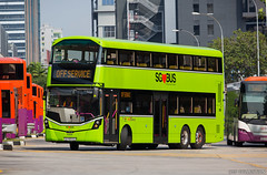 SBS Transit Volvo B8L With Wrightbus Gemini3 Facelift Bodywork (chungleung1) Tags: volvo volvobuses b8l wrightbus gemini3 facelift 12m euro6 singapore sgbus sg sbs sbstransit eunos sg4003d offservice