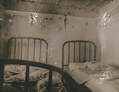 Hunting Lodge (///Brian Henry) Tags: abandoned darkroom analog fiber silver print gelain