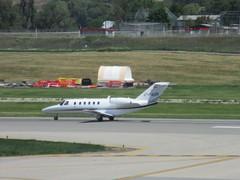 Taxiing (jamica1) Tags: ylw kelowna international airport okanagan ellison field bc british columbia canada aircraft airplane plane cessna citation