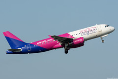 HA-LPJ (Andras Regos) Tags: aviation aircraft plane fly airport bud lhbp spotter spotting takeoff wizz wizzair airbus a320