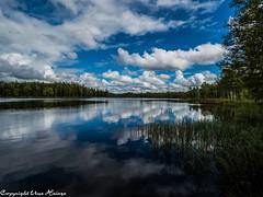 Rostockasjön 062019 01 (U. Heinze) Tags: schweden sweden sverige smaland olympus nature see himmel wasser