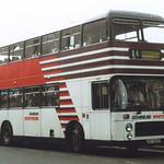 NORTHERN BRISTOL VR 3405 JPT905T IS SEEN AT WASHINGTON GALLERIES BUS STATION