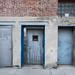Three Metal Doors in Long Island City, Queens - NYC