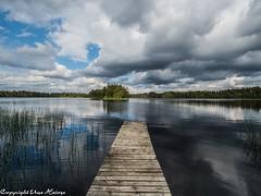 Krokegöl Sommer 2019 01 (U. Heinze) Tags: schweden sweden sverige smaland olympus nature see himmel wasser