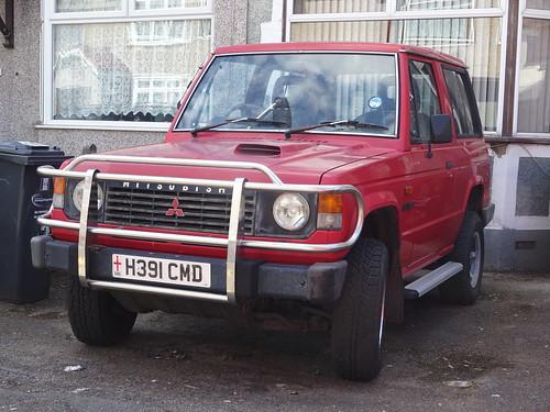 1991 Mitsubishi Shogun Hard-Top Diesel - a photo on Flickriver