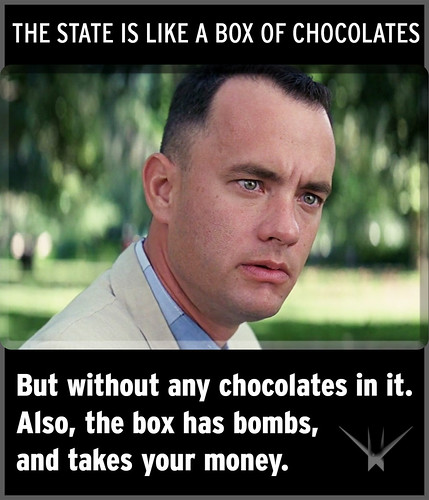 The State is Like a Box of Chocolates