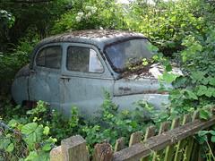 Austin A40 Somerset (Neil's classics) Tags: austin a40 somerset abandoned car