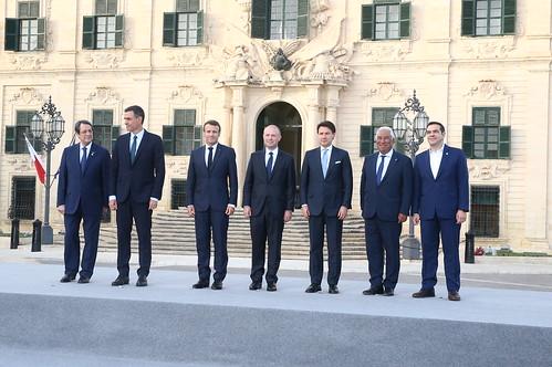 Pedro Sánchez participa en la Cumbre de países del sur de Europa (14/06/2019)