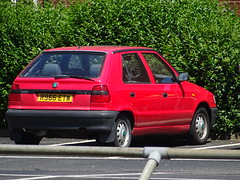 1998 Škoda Felicia 1.3 L (Neil's classics) Tags: 1998 škoda felicia 13l car