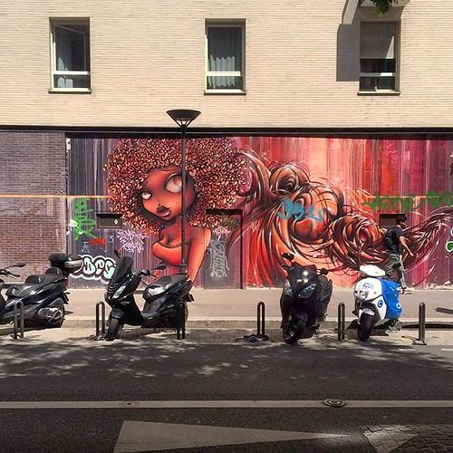 #paris #streetart #streetartparis