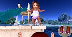 Catch Me!!!!! (emairawinterfell) Tags: toddleedoo td toddler sl second secondlife slife avi baby kid vr