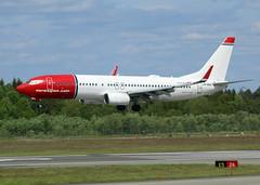 LN-NGV (wiltshirespotter) Tags: stockholmarlanda essa boeing 737 737ng 737800 norwegian