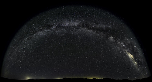 Milky Way Fisheye
