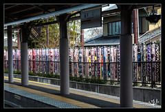 4ème jour / 4th day - Gare / Station - Arashiyama (christian_lemale) Tags: arashiyama japon 嵐山 日本 nikon d7100 gare station