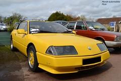 Alpine GTA V6 (Monde-Auto Passion Photos) Tags: voiture vehicule auto automobile alpine gta v6 coupé jaune yellow sportive rare rareté rassemblement france courtenay