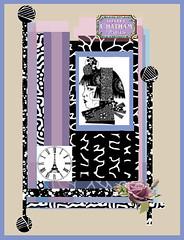 Hotel Chatham (ladybumblebee) Tags: digitalart digitalcollage hotelchatham layers contemporarywomenartists art collage