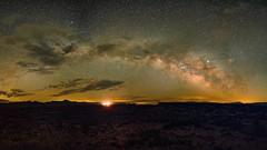Amboy, CA (spencermurray746) Tags: milky way arch roys amboy crater lava landscape night stars desert route 66 canon6da