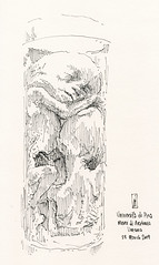 Twins (James Mundie) Tags: jamesgmundie cabinetofcuriosities drawing sketch sketchbook inkdrawing penandink museum anatomy medicalmuseum medicine worksonpaper museodianatomiaumanafilippocivinini universitàdipisa wetspecimen