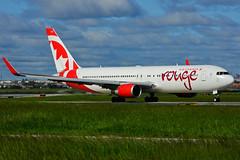 C-GHLU (Air Canada - rouge) (Steelhead 2010) Tags: aircanada rouge boeing b767 b767300er yyz creg cghlu