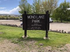 Mono Lake Park (valeehill) Tags: oths overthehillsisters roadtreking monocounty monolakepark countypark sign